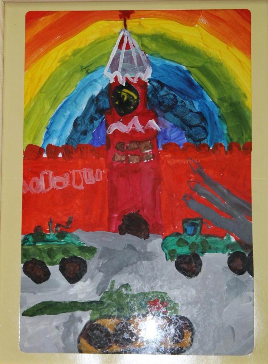 Тимофеев Артемий 5 лет Парад