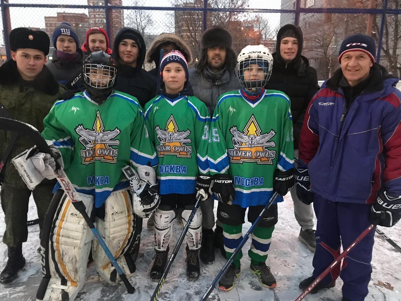 """Хоккей в валенках"""